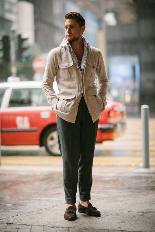A Cool Weather Safari Jacket