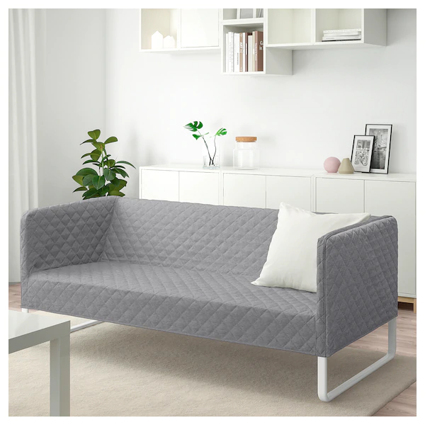 Knopparp Sofa Knisa Light Gray Ikea Ikea Sofa Ikea Small Sofa