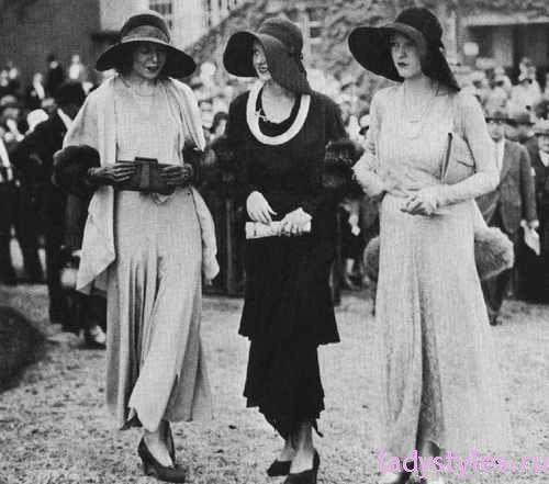 фото мода 20 х годов