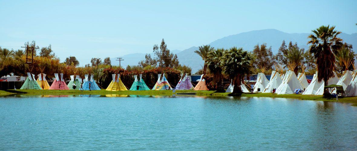 Teepee C&ing at Lake El Dorado...I canu0027 & Coachella Music Festival! Teepee Camping at Lake El Dorado...I can ...