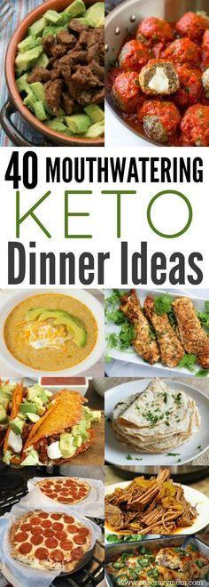 Easy Keto Dinner Ideas - 40 Easy Keto Dinner Recipes images