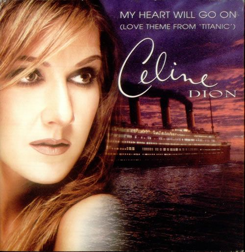 "Free Piano Sheet Music For My Heart Will Go On By Celine Dion: Celine Dion- ""My Heart Will Go On""- Titanic-the Song That"