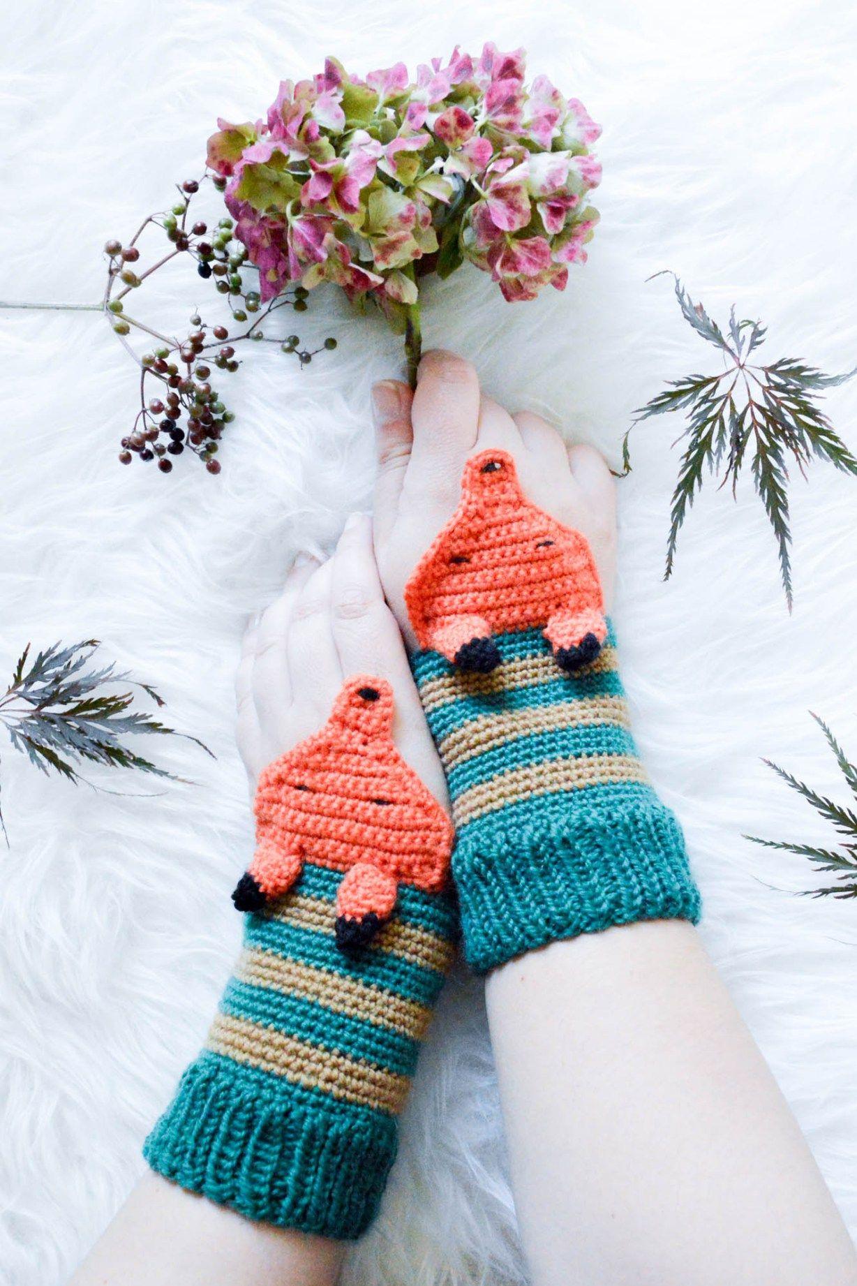 Fuchsstulpen Gruppenboard Häkeln Stricken Pinterest Crochet