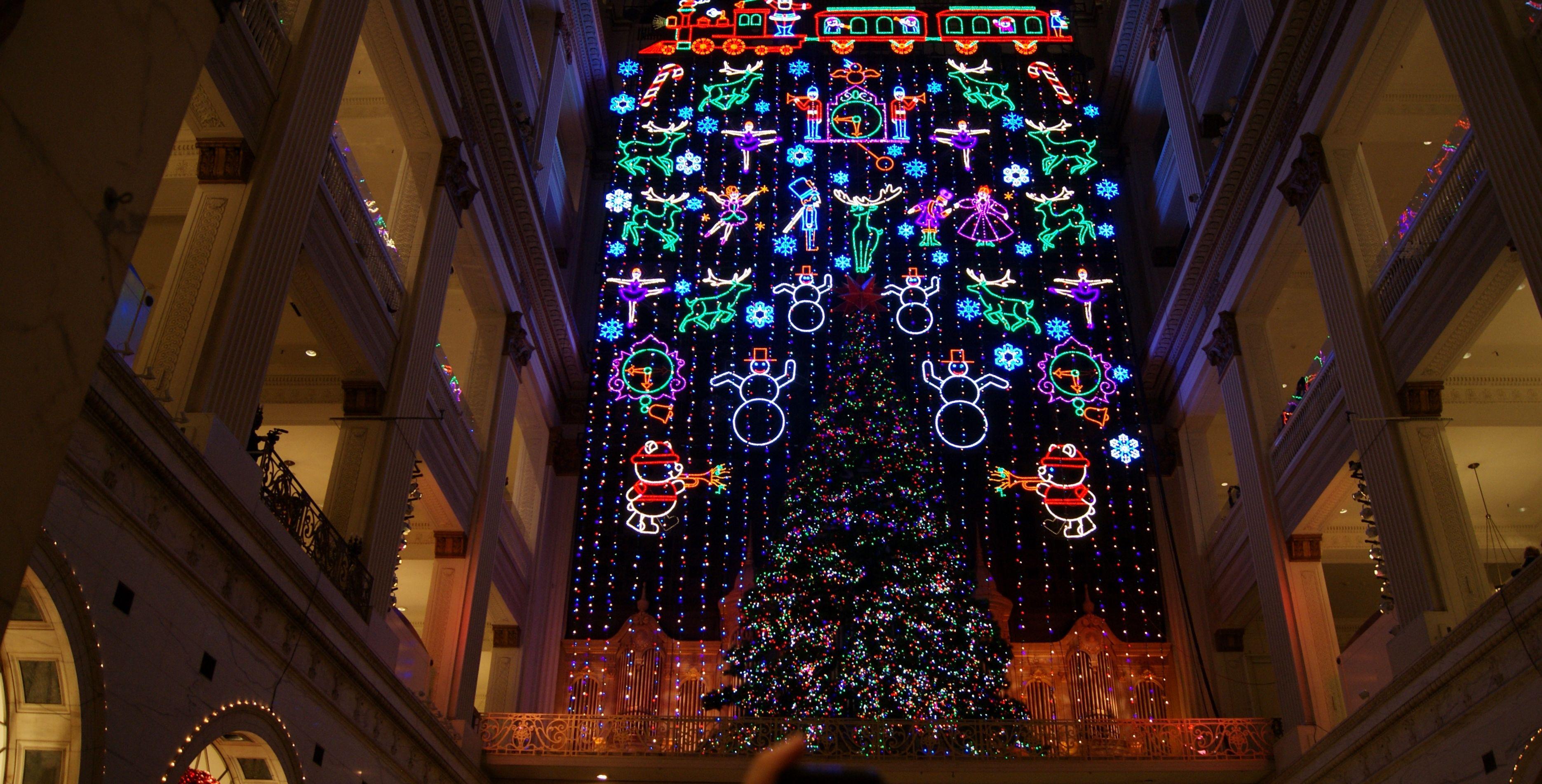 the macys christmas light show