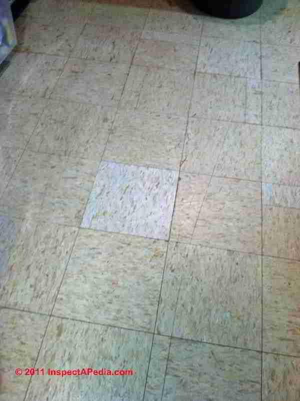 Vinyl Asbestos Floor Tile Identification Photos Kenflex Kentile