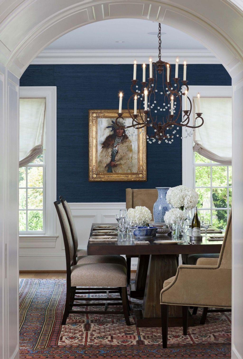 46 Stylish Victorian Dining Room Ideas Dining Room Blue Dining Room Curtains Dining Room Paint