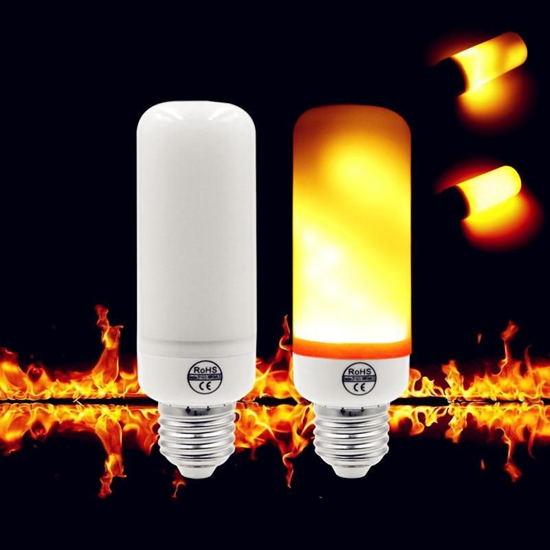 Realistic Flame Lightbulb Light Bulb Lamp Led Lights