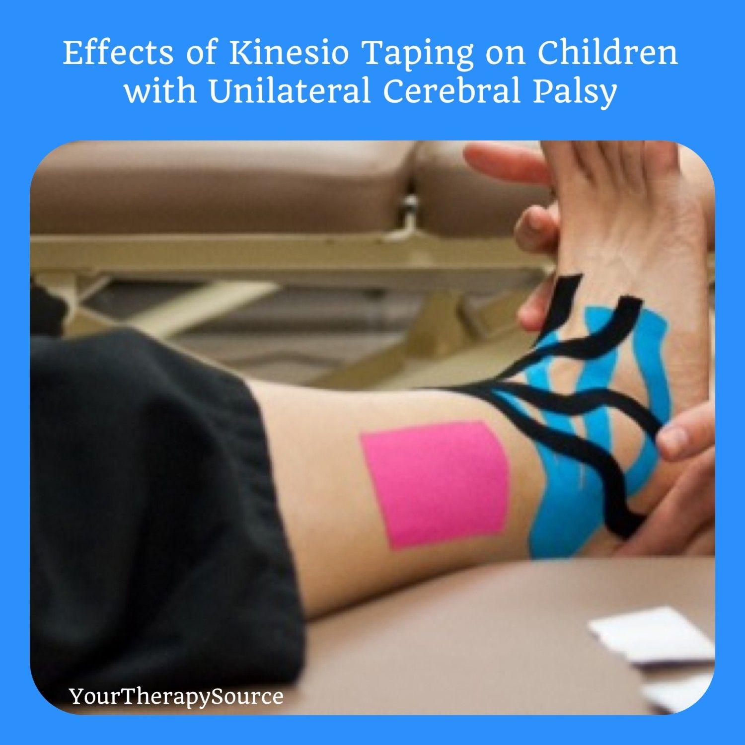 Bright idea 4 physical therapy - Kinesio Taping Unilateral Cerebral Palsy Works For Adults Too