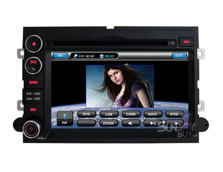 Car Dvd Player Gps Navigation Stereo With Radio Bluetooth For Ford Expedition Gps Navigation Ford Expedition Gps