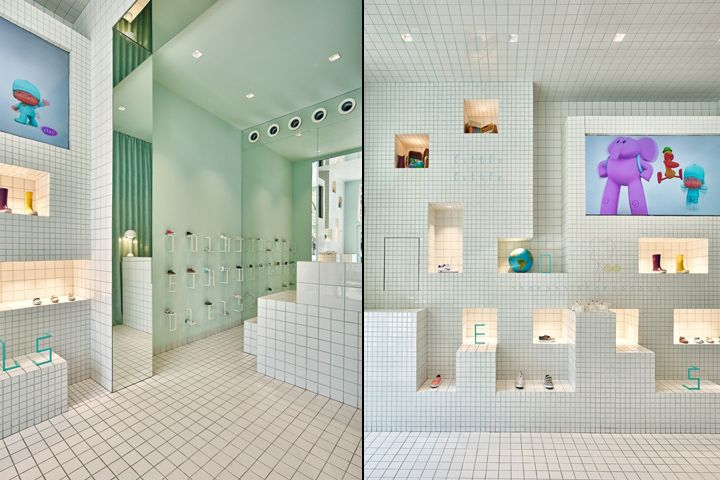Little Shoes Shop By Nabito Architects Barcelona Spain