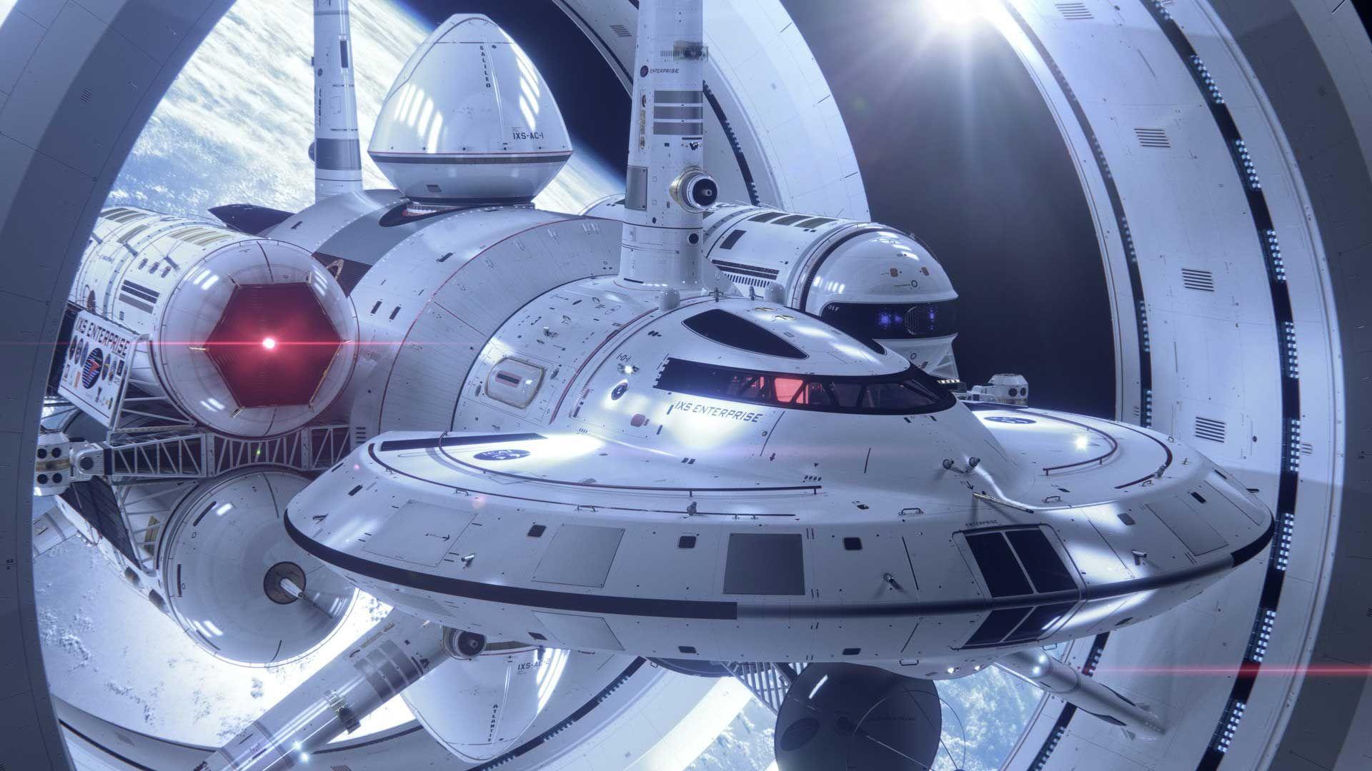 IXS Enterprise: La nave espacial de la NASA más rápida que ...