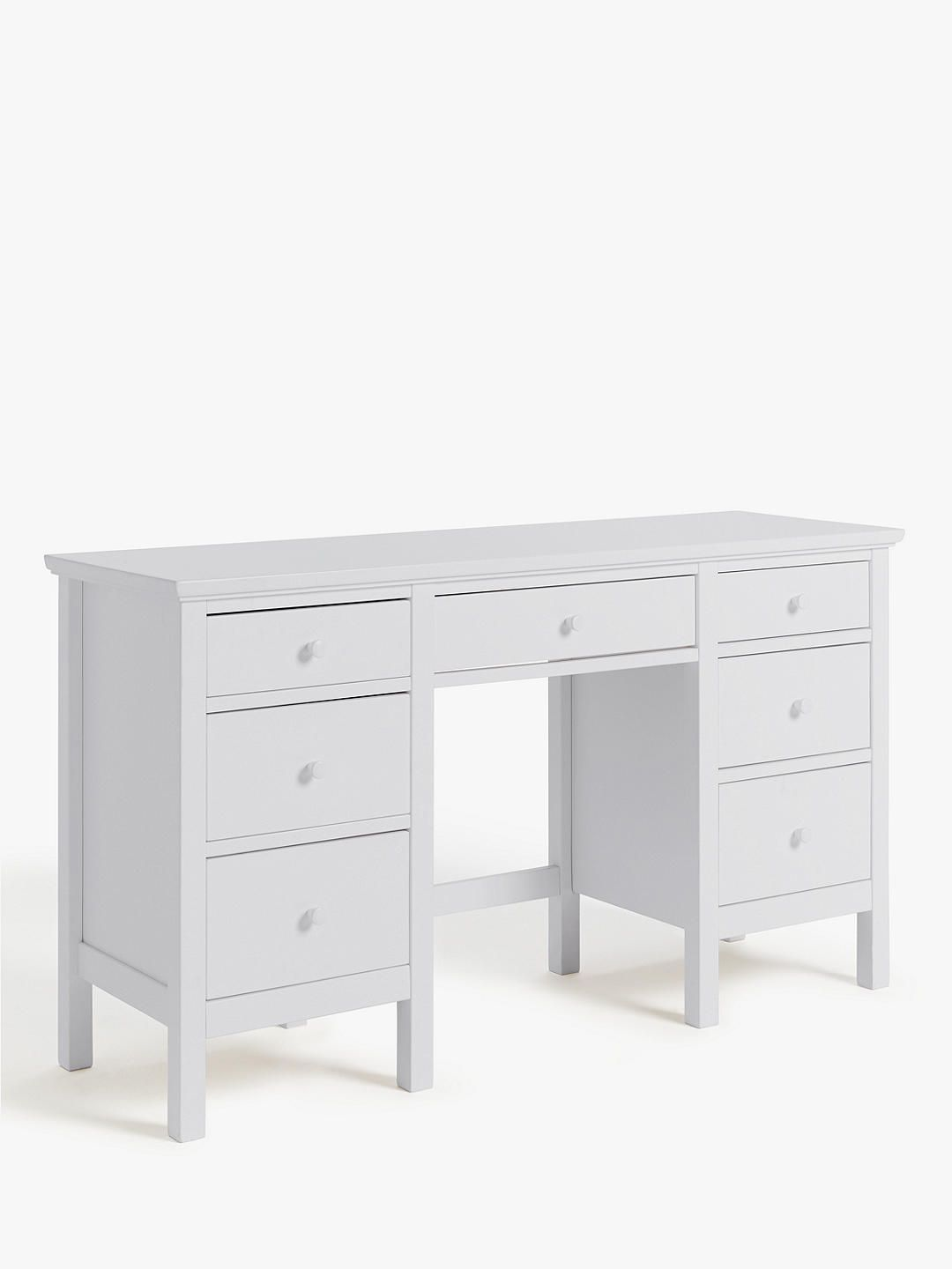 Gainsborough White Dressing Table Very Solid Dressing Table With