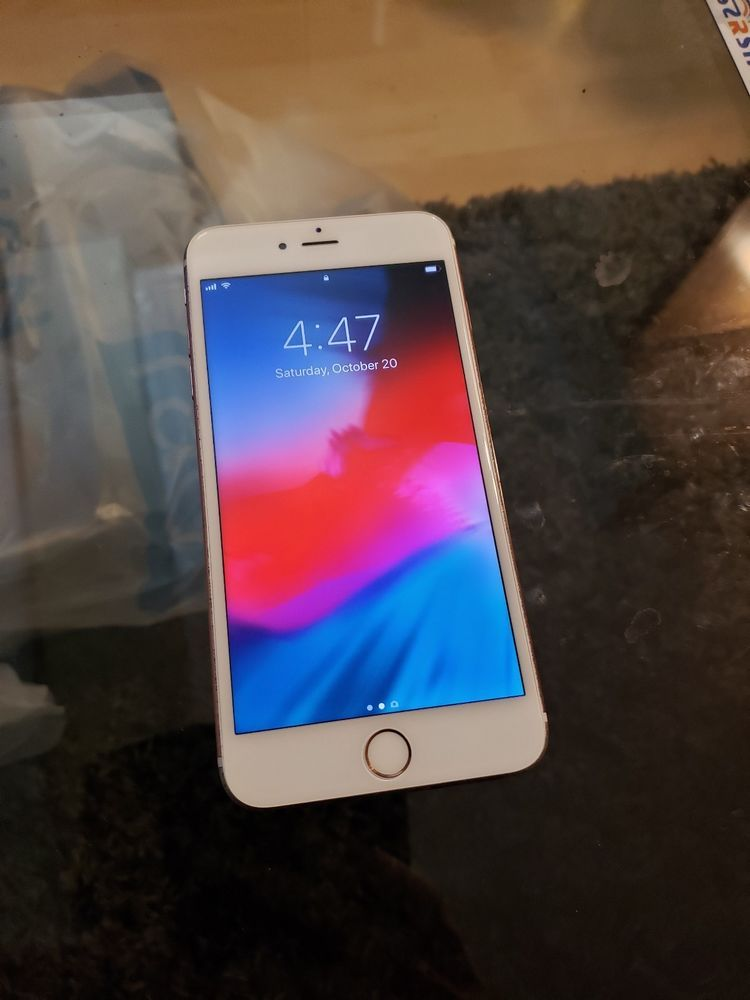 Apple Iphone 6s Plus 16gb Rose Gold Unlocked A1687 Cdma