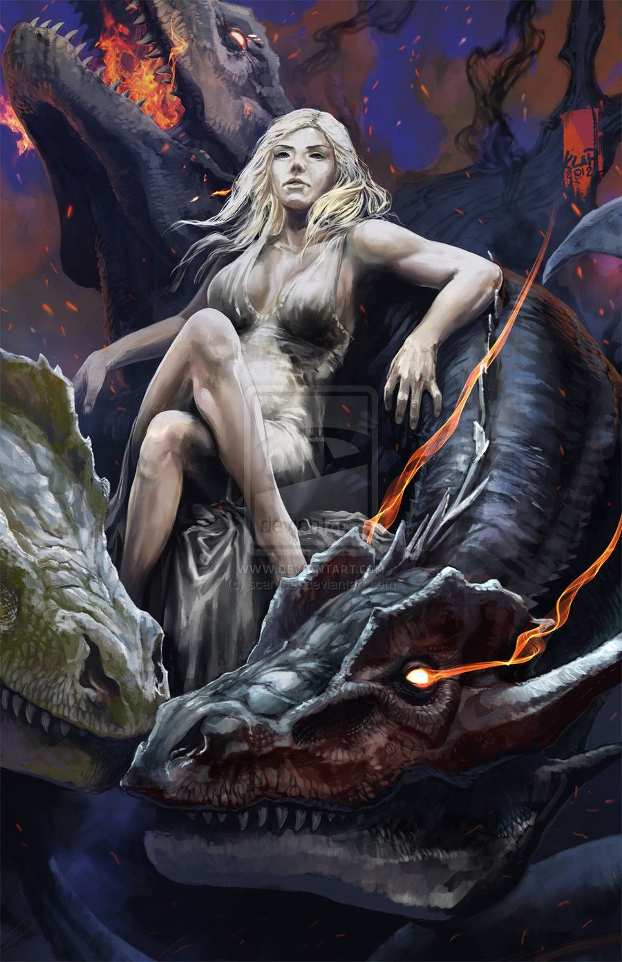 blood of the dragon dragons of the realms book 2
