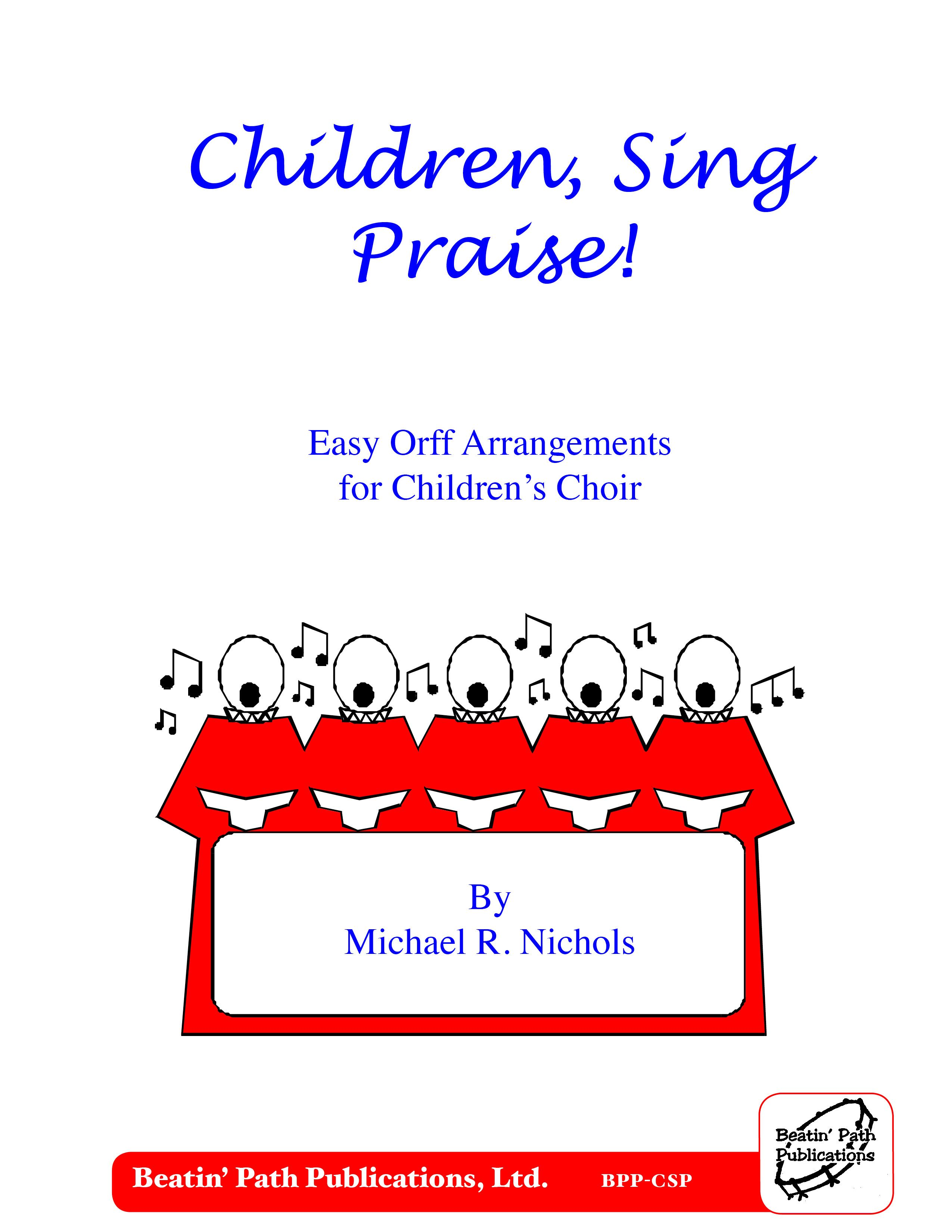Children Sing Praise Is A Great Book And One Of Five