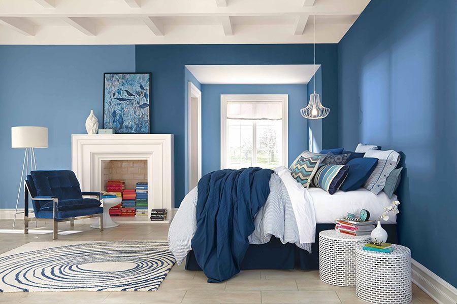 Camere Da Letto Blue Moon : Camere da letto blu: tante idee di arredo con diverse sfumature