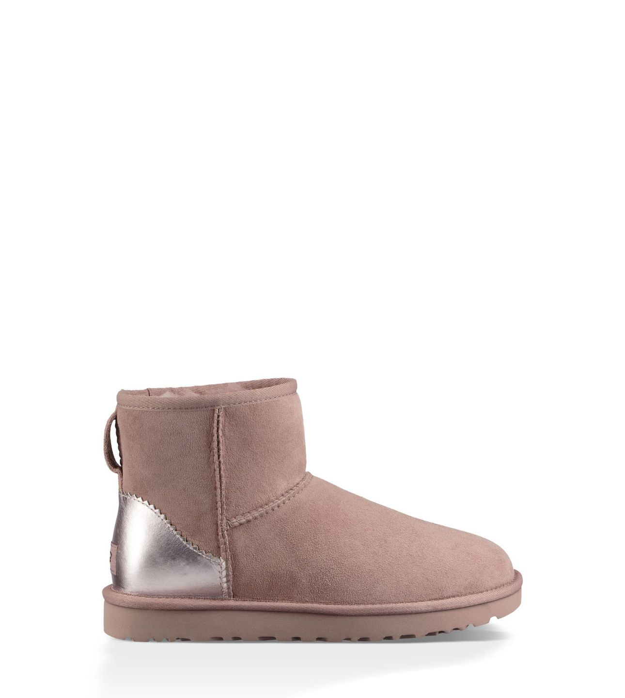Shop the Classic Mini II Metallic Boot, part of the Official UGG® Women's collection