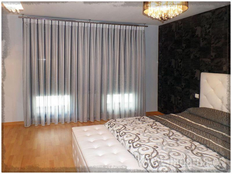 Cortinas modernas dormitorio | cortinas dormitorio | Pinterest