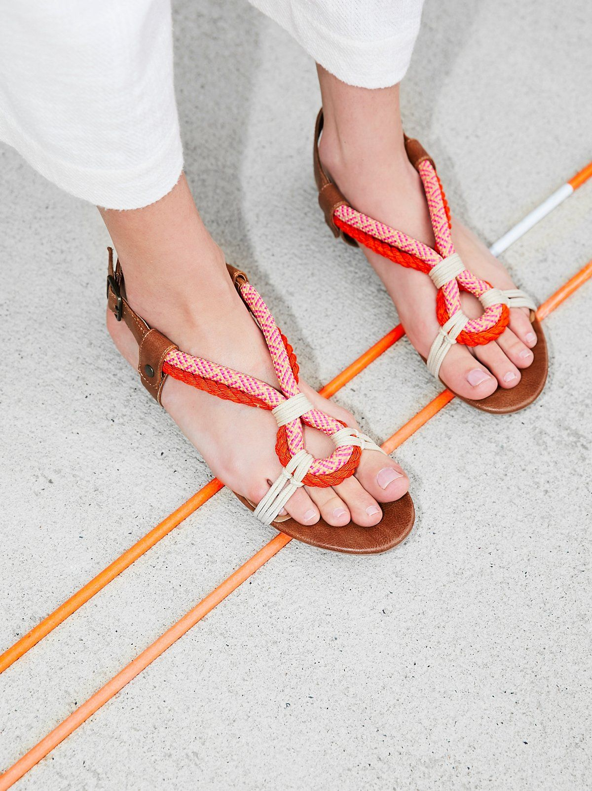 Tucson Rope Sandal Rope Sandals Strap Heels Sandals