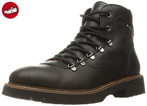 Herren U Mattias B ABX B Sneakers, Schwarz (BLACKC9999), 45 EU Geox