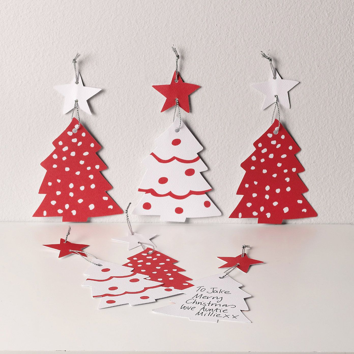 Christmas Gift Tags - Set of 6 | The White Company