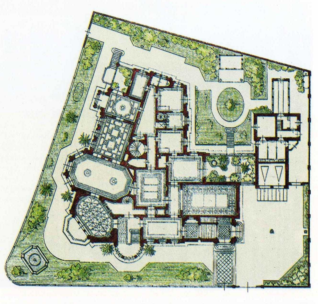 Bilderesultat for villa grundriss 1900