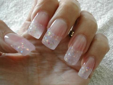 not into long nails but this looks pretty  cute acrylic