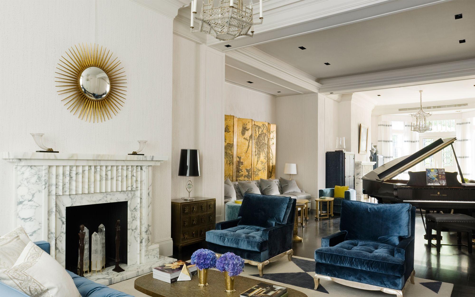 David Collins Elegant Grade Ii Listed Villa London Uk Luxury