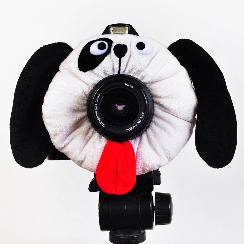 ぬいぐるみ型レンズカバー(ドッグ)|ROOM - my favorites, my shop 好きなモノを集めてお店を作る