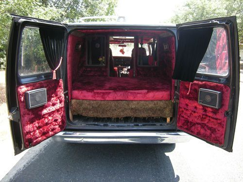 Custom Van Interiors 1978 Ford Econoline E 150 Awesome Interior And Low Miles