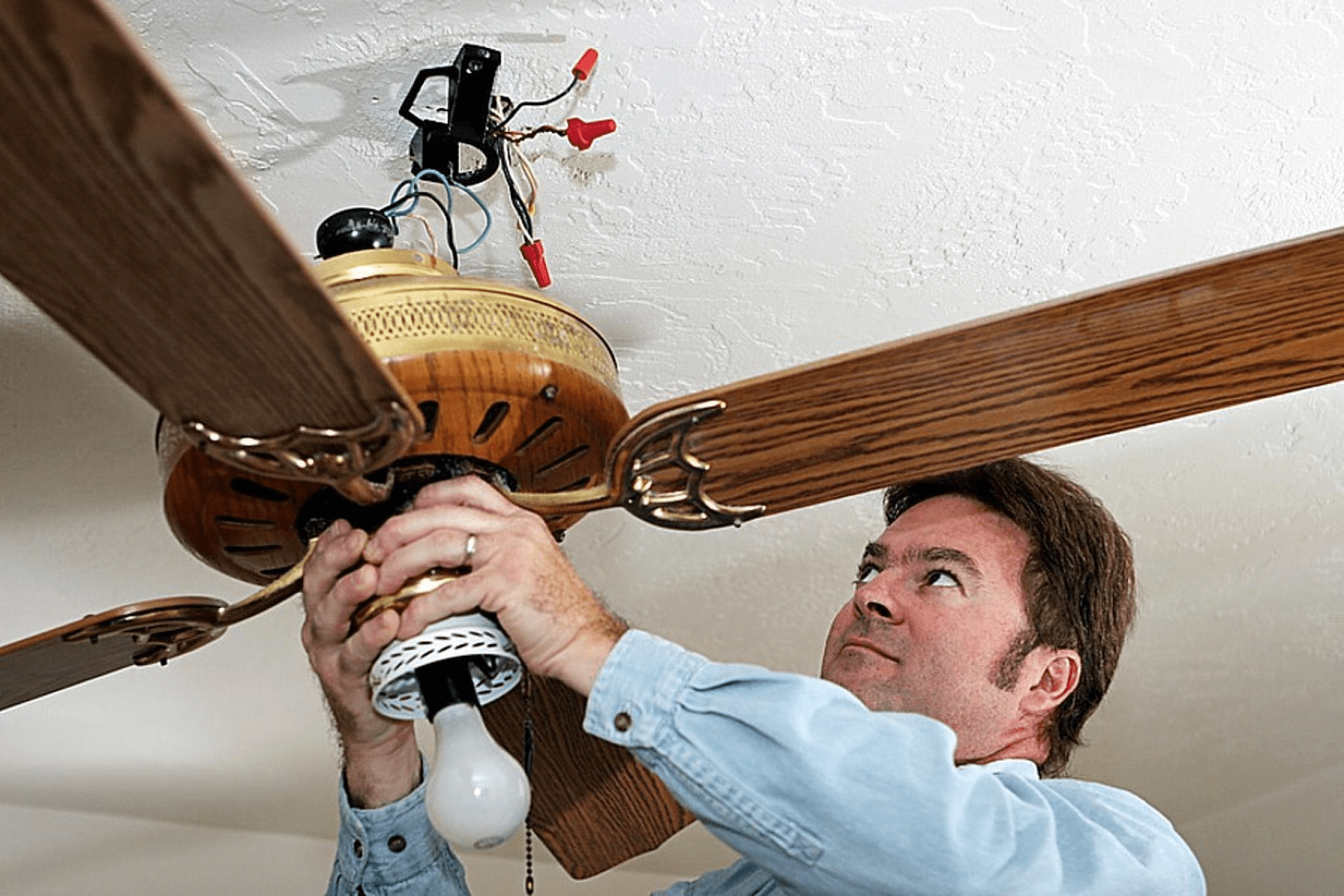 How To Install A Ceiling Fan Ceiling Fan Ceiling Fan Direction