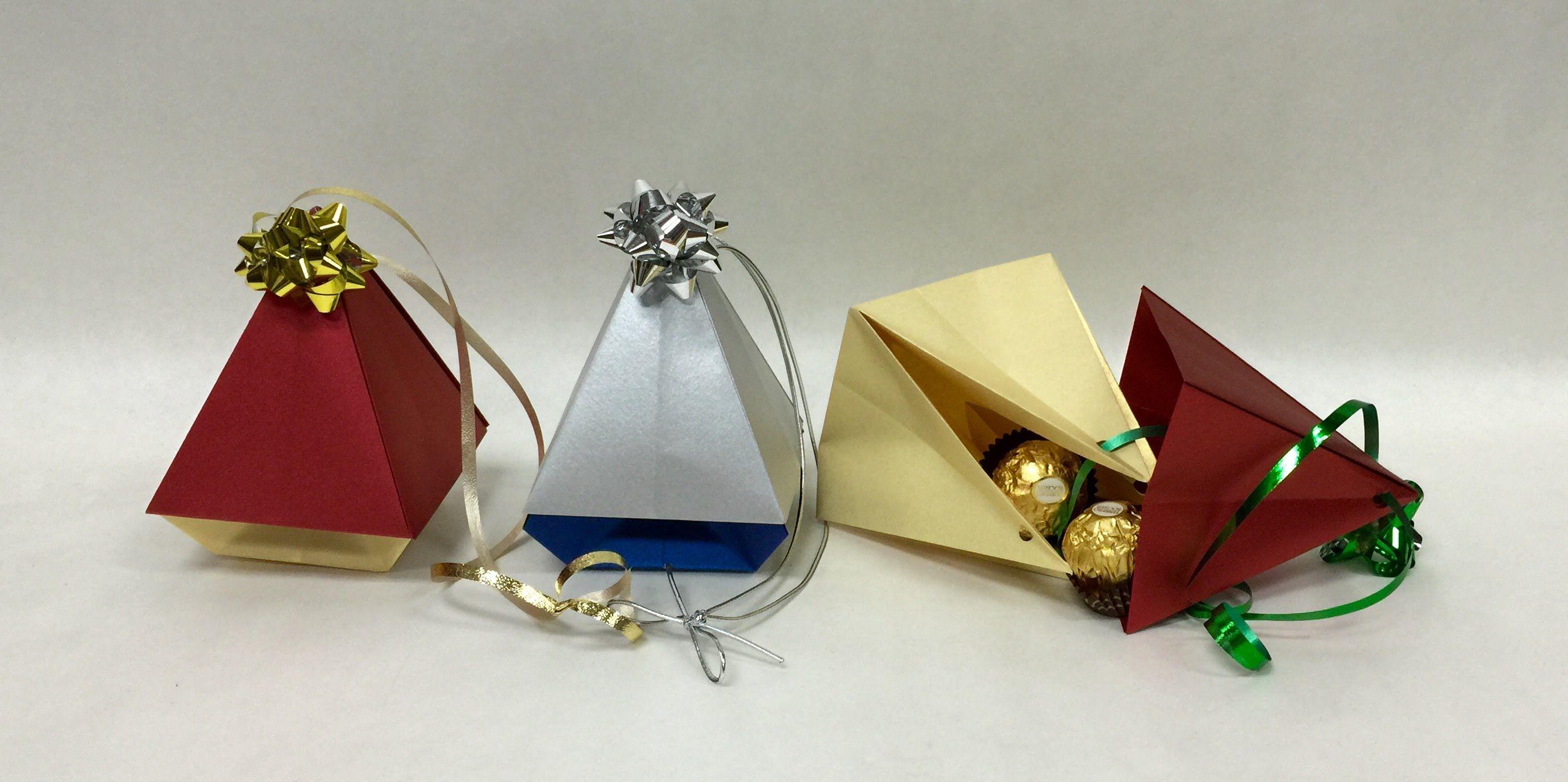 Christmas Tree Ornament Origami Box Origami Ornaments Origami Christmas Tree Diy Paper Christmas Tree