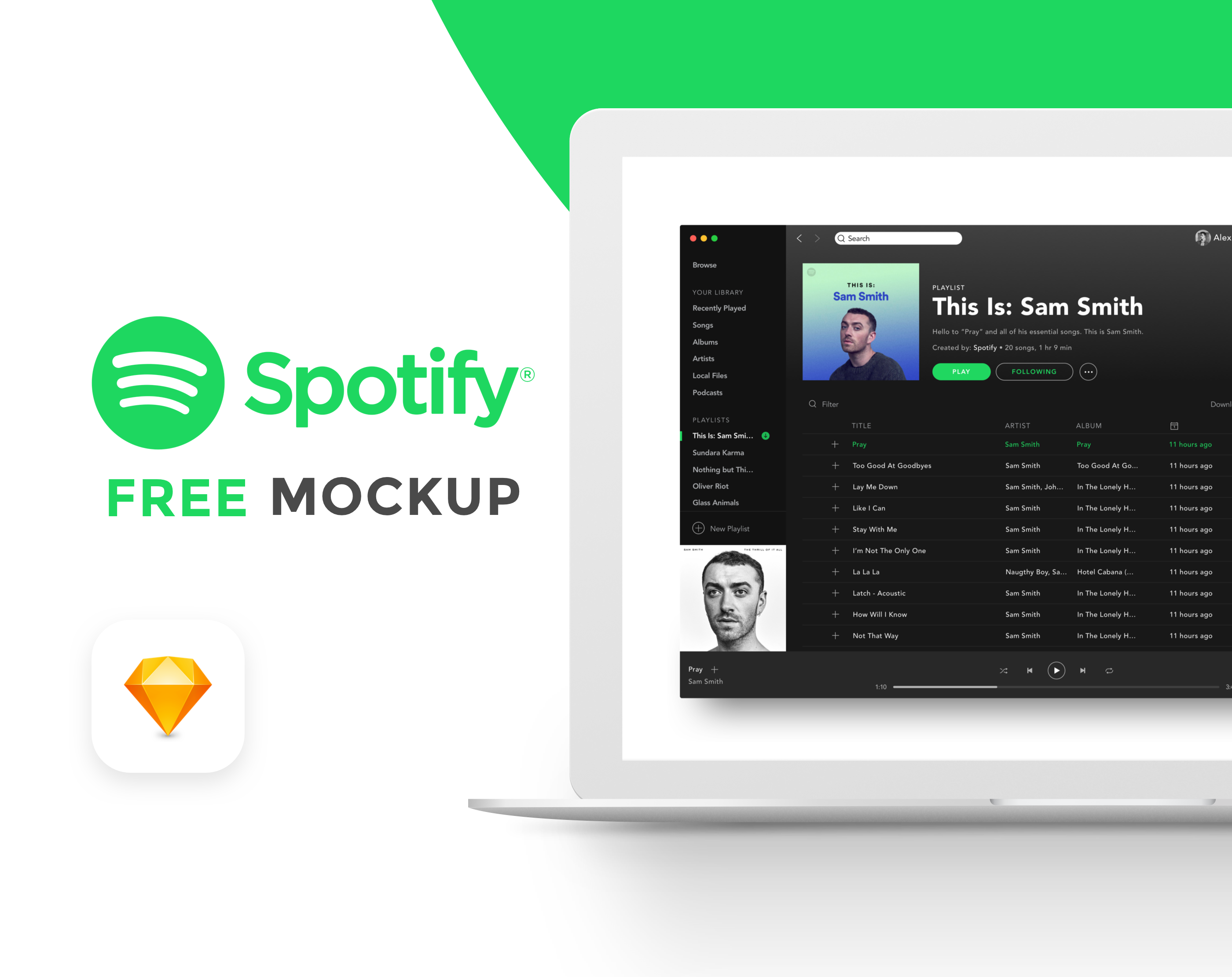 Check Out This Behance Project Free Spotify Mockup Https Www Behance Net Gallery 57704195 Free Spotify Mockup Business Icon Free Mockup Mockup