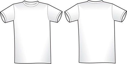 Download 2 Free Blank Shirt Templates Shirt Template Clothing Templates Clothing Design Sketches