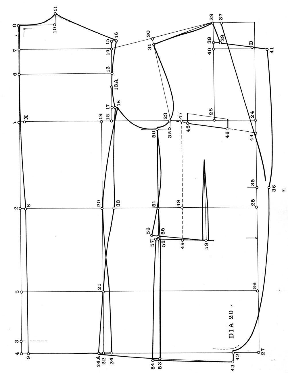 Suit Pattern : pattern, Basic, Jacket, Pattern, Pattern,