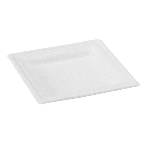 Square Sugar Cane Plate - 6 2 X 6 2