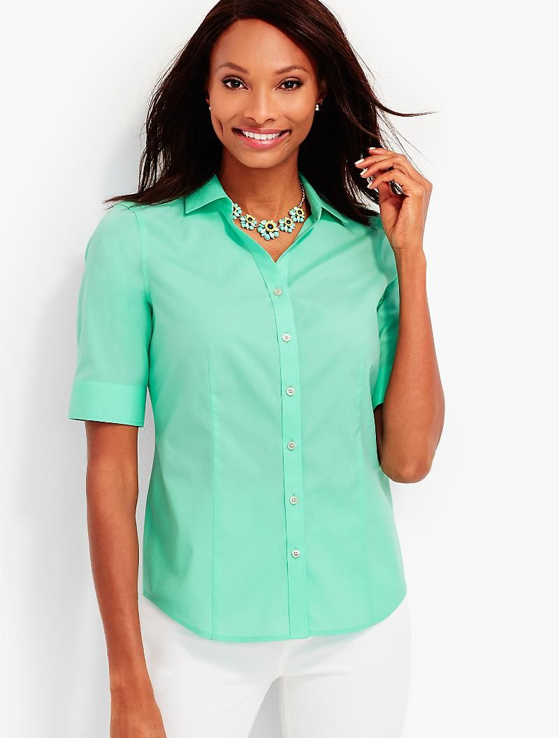 24f323f06 The Perfect Elbow-Sleeve Shirt | like | Shirts, Clothes for women, Women