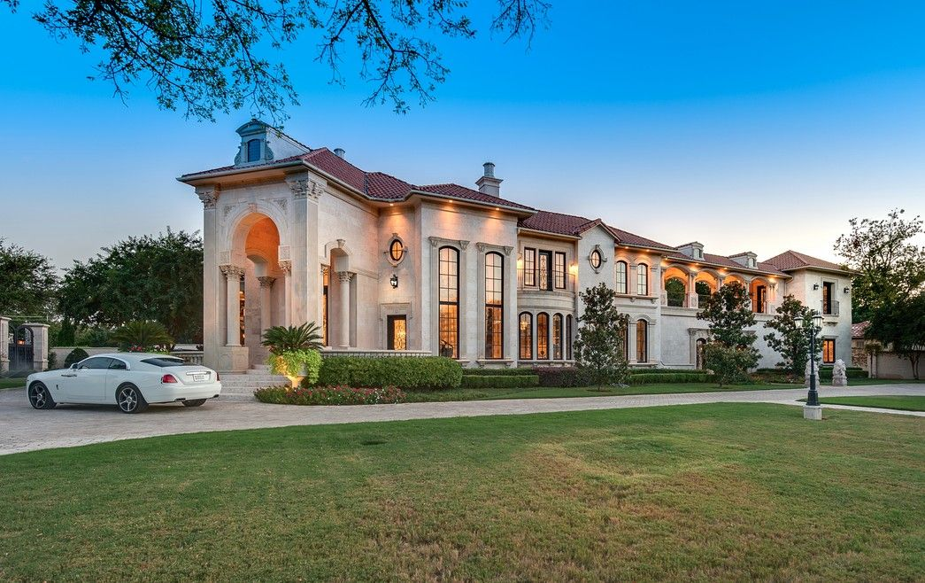 5 95 Million 10 000 Square Foot Mediterranean Mansion 9625 Preston Road Dallas Tx Dallas Tx In 2020 Mansions Mediterranean Mansion Luxury House Plans