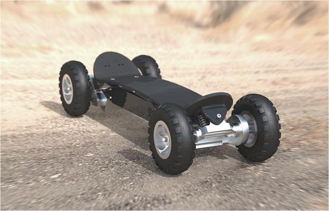 3000 Watt Twin Motor All Terrain Electric Skateboard  Skate Tek  Motorized skateboard