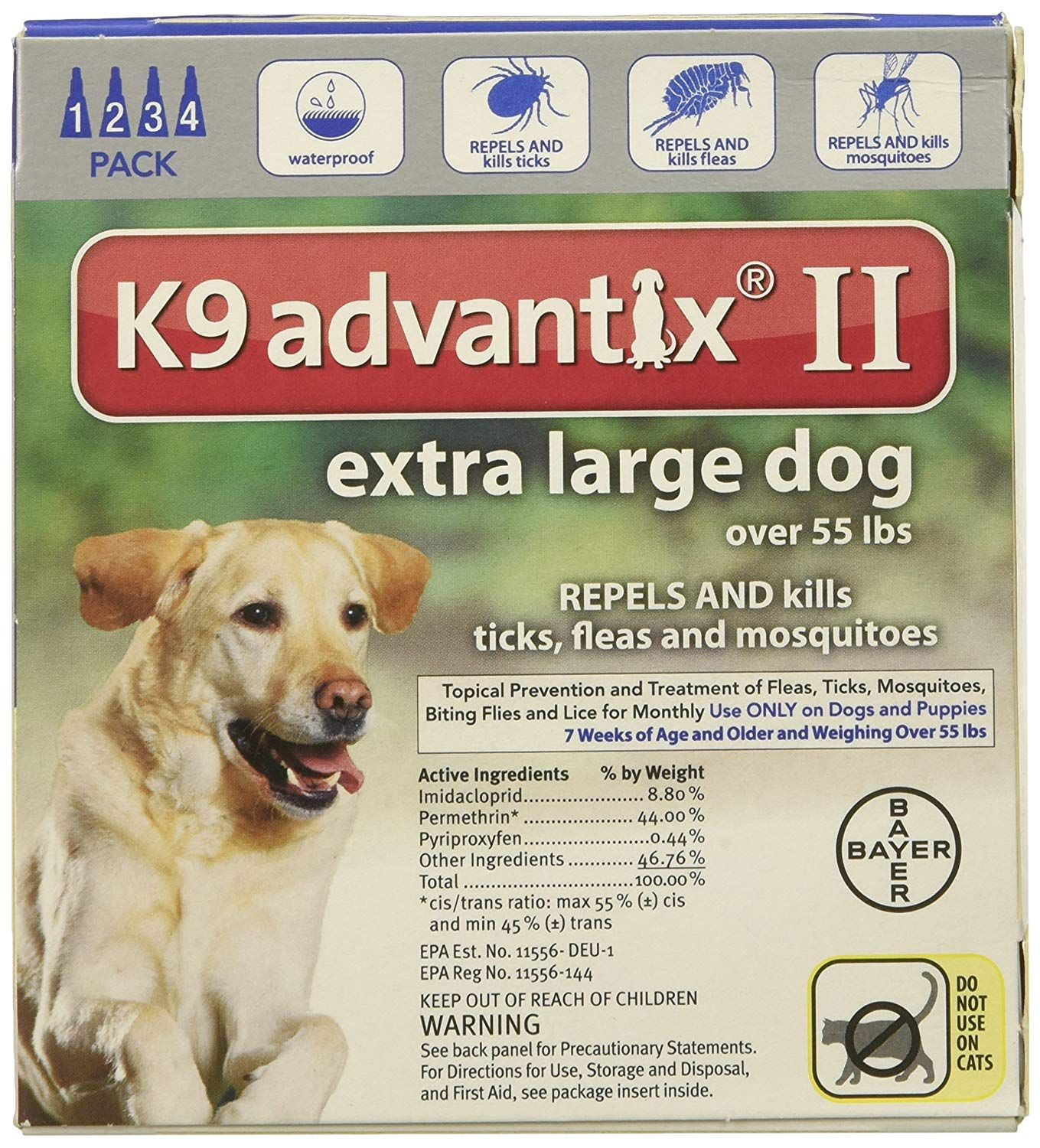 K9 Advantix Ii For Dogs Over 55 Lbs 4 Count You Can Get Additional Details At The Image Link This Is An Affiliate Link Large Dogs Dogs Flea And Tick