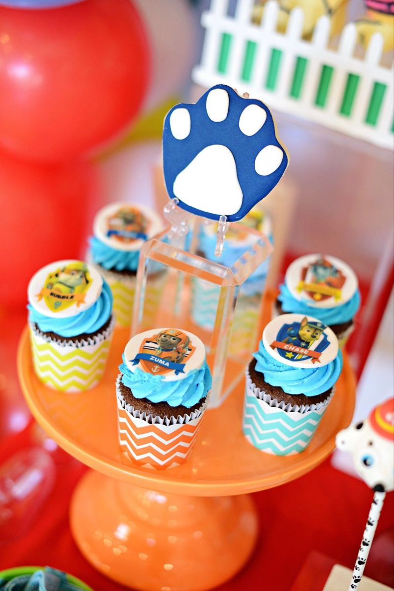 Paw Patrol dessert party ideas (With images) Paw patrol