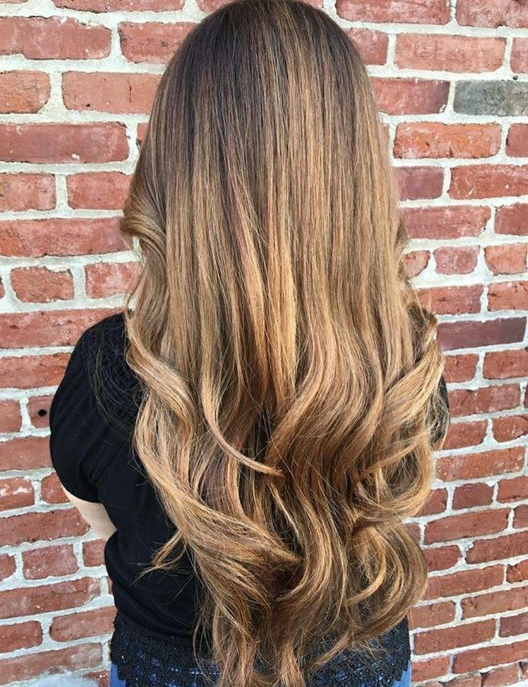 Dunkelblonde Haare Frisurenideen Haartrends Damen
