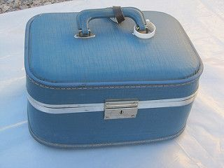 Vintage Train Case, 1960s, antique, collectible, for sale http://r.ebay.com/IIjfxB. | by RocksInMyHead1