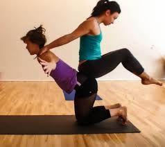 Partner Yoga And Flexibility Google Search Partner Stretches Partner Yoga Partners