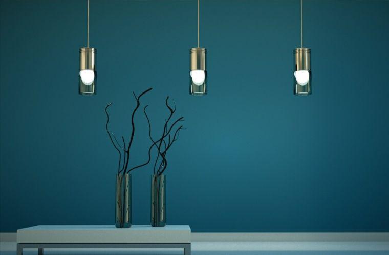 Color aguamarina para la decoración de vuestro interior Lights