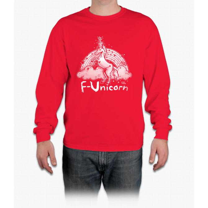 F-unicorn Unicorn Long Sleeve T-Shirt