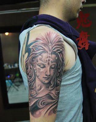 Goddess #portrait #tattoo
