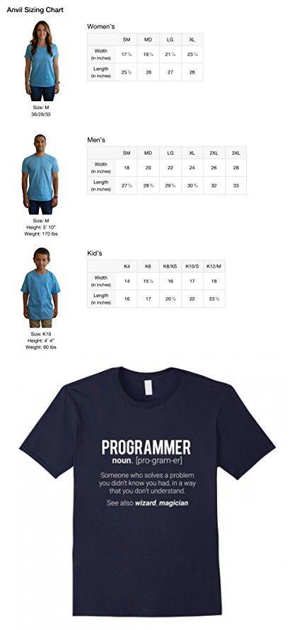 2850425e Men's Funny Programmer Meaning T-Shirt - Programmer Noun Defintion Medium  Navy