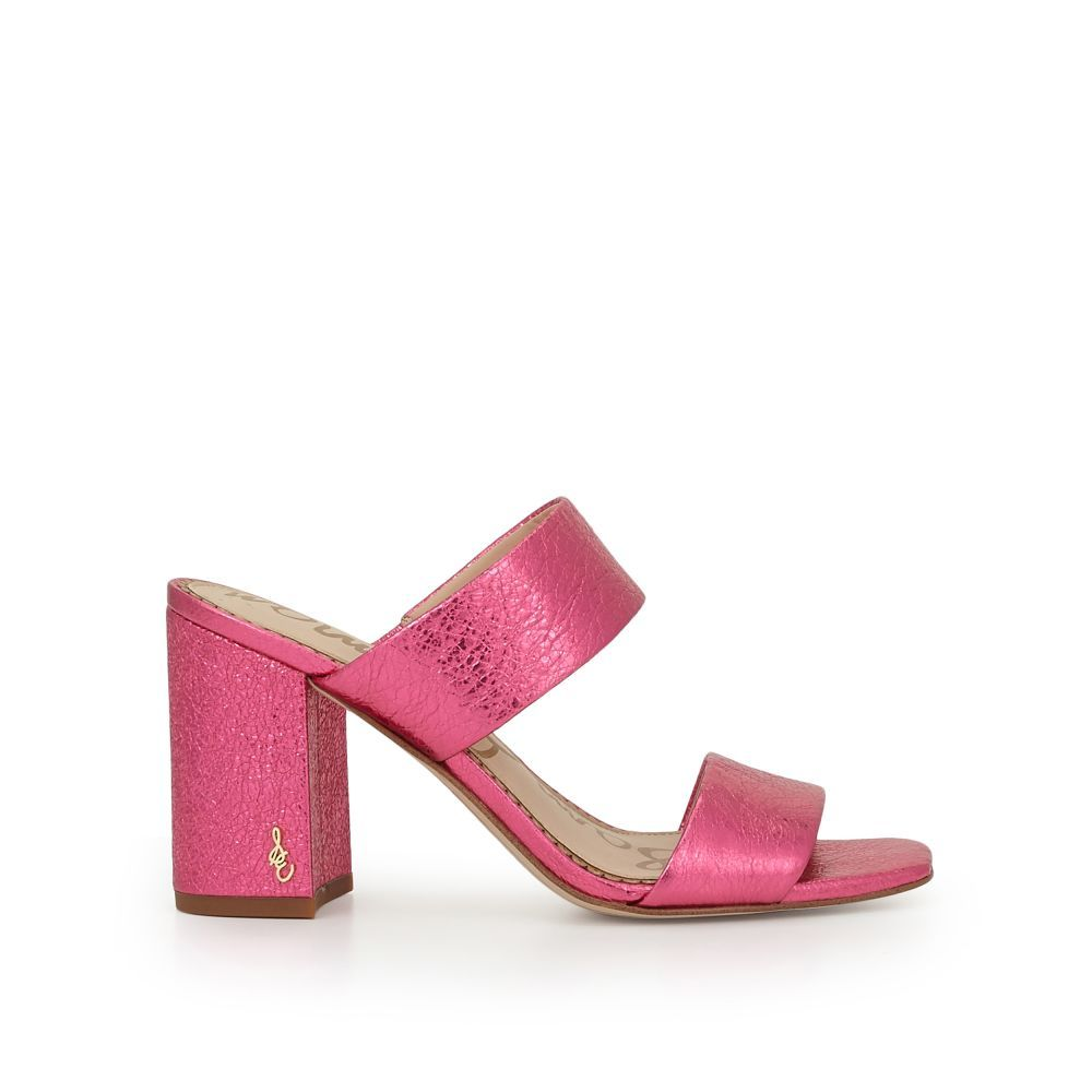 1f969d205da2 The Delaney Block Heel Mule is the real deal. This classic sandal features  a block heel with thick straps