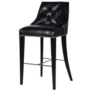 A Magnificent Boutique Style Black Velvet High Back Chair This Boutique Style Chair Will Add A Glamorous Twist T Bar Stools Leather Bar Stools Stool